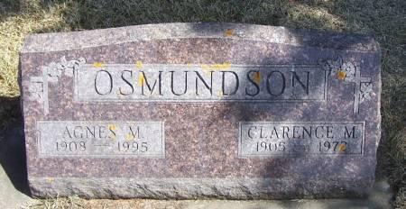 OSMUNDSON, CLARENCE M - Winneshiek County, Iowa | CLARENCE M OSMUNDSON