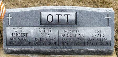 OTT, RITA - Winneshiek County, Iowa | RITA OTT