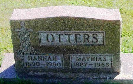 OTTERS, MATHIAS - Winneshiek County, Iowa   MATHIAS OTTERS