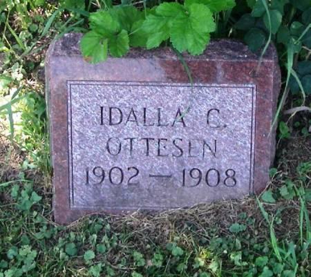 OTTESEN, IDALLA C - Winneshiek County, Iowa   IDALLA C OTTESEN
