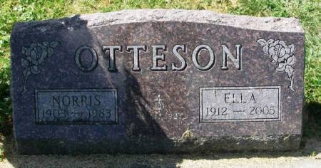 OTTESON, NORRIS - Winneshiek County, Iowa | NORRIS OTTESON