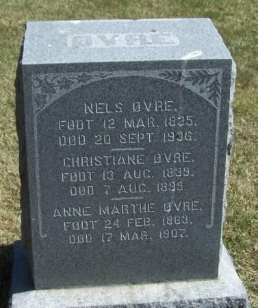 OVRE, CHRISTIANE - Winneshiek County, Iowa | CHRISTIANE OVRE