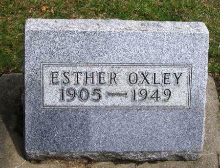OXLEY, ESTHER - Winneshiek County, Iowa | ESTHER OXLEY