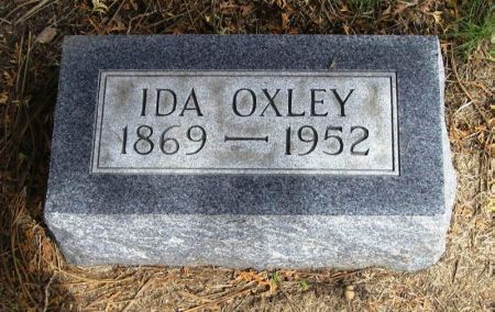 OXLEY, IDA - Winneshiek County, Iowa | IDA OXLEY