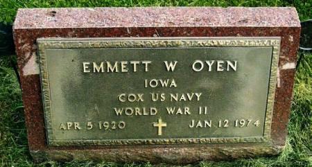 OYEN, EMMETT W. - Winneshiek County, Iowa   EMMETT W. OYEN
