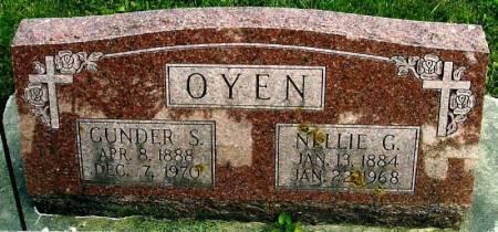 OYEN, GUNDER S. - Winneshiek County, Iowa | GUNDER S. OYEN