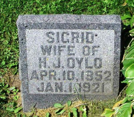 OYLO, SIGRID - Winneshiek County, Iowa | SIGRID OYLO