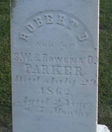 PARKER, ROBERT D. - Winneshiek County, Iowa | ROBERT D. PARKER