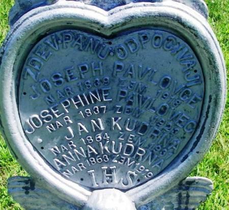 PAVLOVCE, JOSEPH - Winneshiek County, Iowa | JOSEPH PAVLOVCE