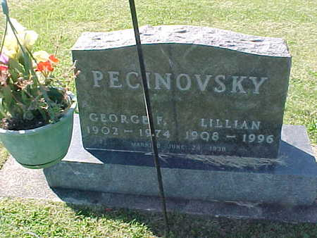 PECINOVSKY, GEORGE - Winneshiek County, Iowa | GEORGE PECINOVSKY