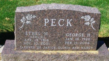 NERLIE PECK, ETHEL - Winneshiek County, Iowa | ETHEL NERLIE PECK