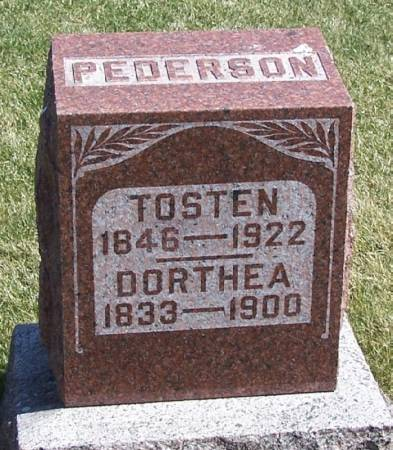 PEDERSON, DORTHEA - Winneshiek County, Iowa | DORTHEA PEDERSON