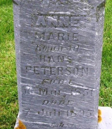 PETERSON, ANNE MARIE - Winneshiek County, Iowa   ANNE MARIE PETERSON