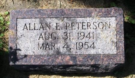PETERSON, ALLAN E. - Winneshiek County, Iowa | ALLAN E. PETERSON