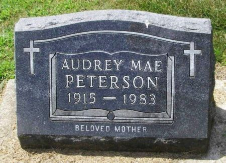 PETERSON, AUDREY MAE - Winneshiek County, Iowa | AUDREY MAE PETERSON