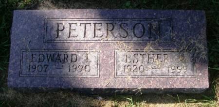 PETERSON, EDWARD I. - Winneshiek County, Iowa   EDWARD I. PETERSON