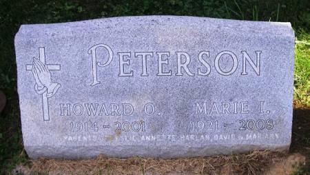 PETERSON, HOWARD O. - Winneshiek County, Iowa | HOWARD O. PETERSON