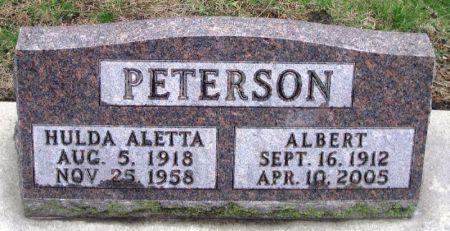PETERSON, ALBERT - Winneshiek County, Iowa   ALBERT PETERSON