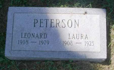 PETERSON, LAURA - Winneshiek County, Iowa   LAURA PETERSON