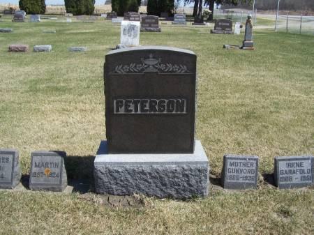 PETERSON, MARTIN FAMILY STONE - Winneshiek County, Iowa | MARTIN FAMILY STONE PETERSON