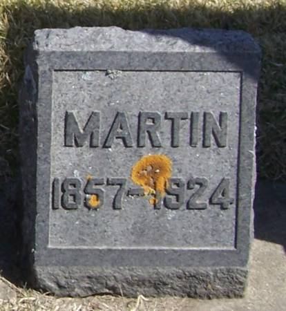 PETERSON, MARTIN - Winneshiek County, Iowa   MARTIN PETERSON