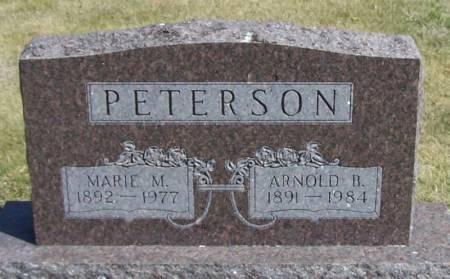 PETERSON, ARNOLD B - Winneshiek County, Iowa   ARNOLD B PETERSON