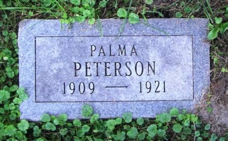 PETERSON, PALMA - Winneshiek County, Iowa | PALMA PETERSON