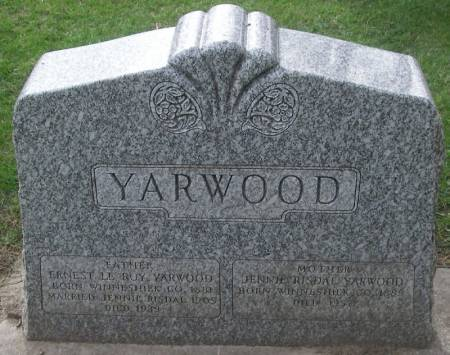 YARWOOD, ERNEST LEROY - Winneshiek County, Iowa | ERNEST LEROY YARWOOD