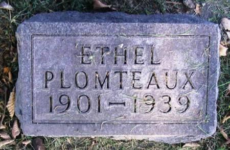 PLOMTEAUX, ETHEL - Winneshiek County, Iowa   ETHEL PLOMTEAUX