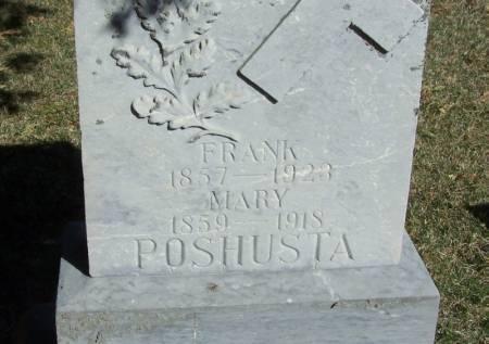 POSHUSTA, MARY - Winneshiek County, Iowa | MARY POSHUSTA