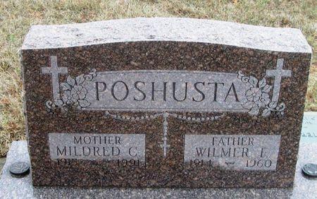 POSHUSTA, MILDRED C. - Winneshiek County, Iowa | MILDRED C. POSHUSTA