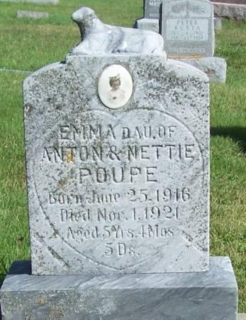 POUPE, EMMA - Winneshiek County, Iowa   EMMA POUPE