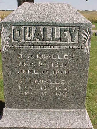 QUALLEY, O. O. - Winneshiek County, Iowa | O. O. QUALLEY