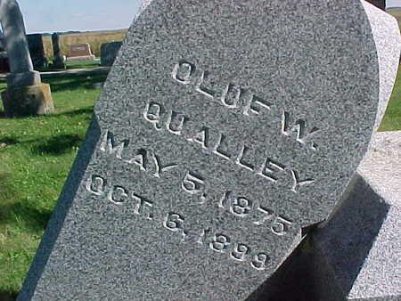 QUALLEY, OLUF  W. - Winneshiek County, Iowa | OLUF  W. QUALLEY