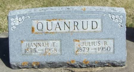 QUANRUD, JULIUS B - Winneshiek County, Iowa | JULIUS B QUANRUD