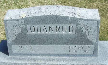 QUANRUD, HENRY M - Winneshiek County, Iowa | HENRY M QUANRUD