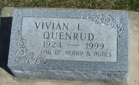 QUENRUD, VIVIAN L - Winneshiek County, Iowa | VIVIAN L QUENRUD