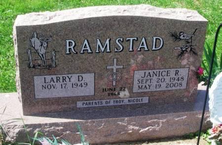 RAMSTAD, JANICE R. - Winneshiek County, Iowa | JANICE R. RAMSTAD