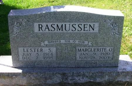 RASMUSSEN, MARGUERITE O. - Winneshiek County, Iowa | MARGUERITE O. RASMUSSEN