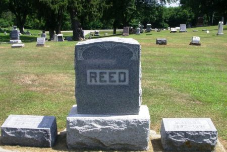 REED, ADELBERT FAMILY STONE - Winneshiek County, Iowa | ADELBERT FAMILY STONE REED
