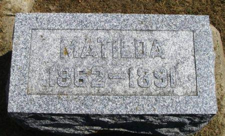 REED, MATILDA - Winneshiek County, Iowa | MATILDA REED