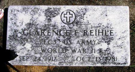 REIHLE, CLARENCE F. - Winneshiek County, Iowa   CLARENCE F. REIHLE
