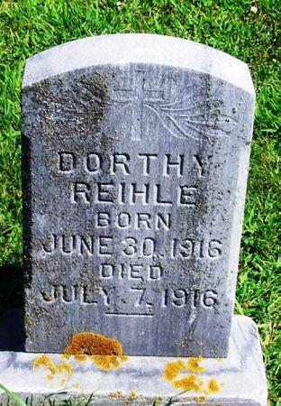 REIHLE, DORTHY - Winneshiek County, Iowa   DORTHY REIHLE