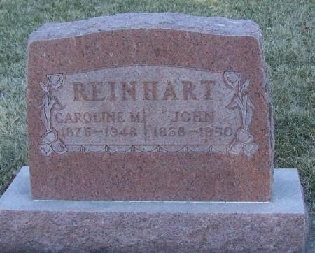 REINHART, JOHN - Winneshiek County, Iowa | JOHN REINHART