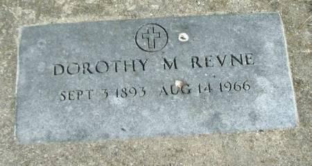 REVNE, DOROTHY M - Winneshiek County, Iowa | DOROTHY M REVNE