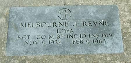 REVNE, MELBOURNE J - Winneshiek County, Iowa | MELBOURNE J REVNE