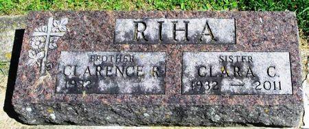 RIHA, CLARA CHARLOTTE - Winneshiek County, Iowa | CLARA CHARLOTTE RIHA