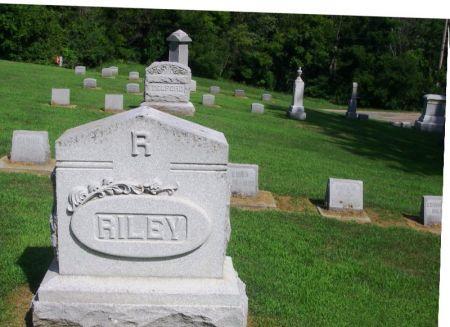 RILEY, EDWARD J. FAMILY STONE - Winneshiek County, Iowa | EDWARD J. FAMILY STONE RILEY