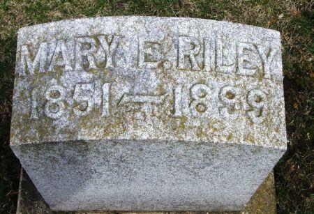 RILEY, MARY E. - Winneshiek County, Iowa | MARY E. RILEY