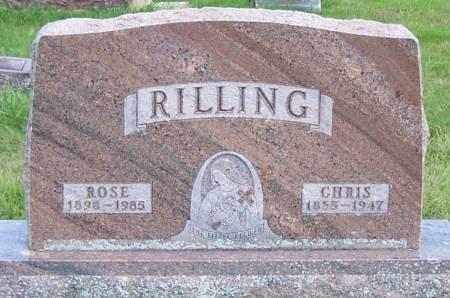 RILLING, CHRIS - Winneshiek County, Iowa | CHRIS RILLING